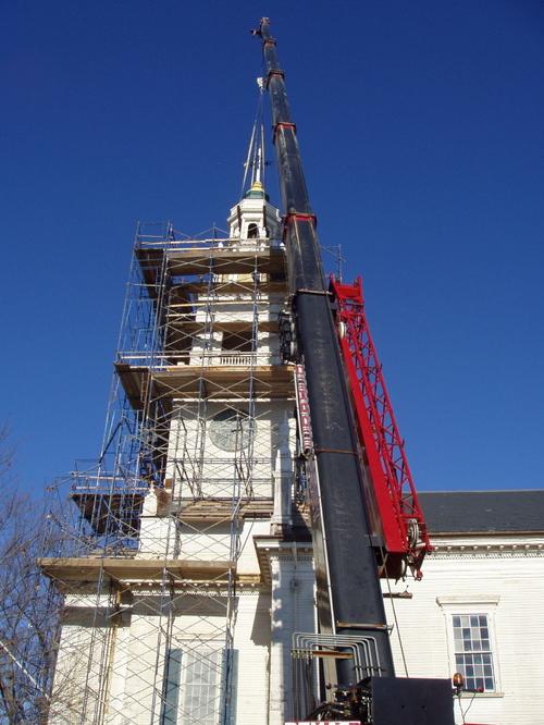 Crane From Parish Street