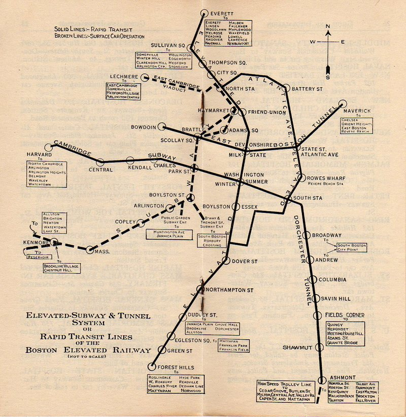 boston subway  history